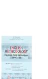 Ebook English Methodology (Phương pháp giảng dạy tiếng Anh) - Lê Văn Sự