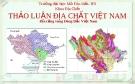Thảo luận địa chất Việt Nam