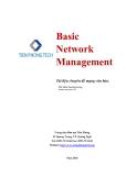 Tài liệu chuyên đề mạng căn bản: Basic Network Management - Bùi Vương Long