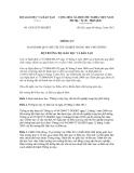 Thông tư số 10/2012/TT-BGDĐT