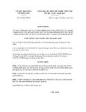 Quyết định số  529/QĐ-UBND
