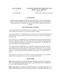Quyết định số 786/QĐ-BTC