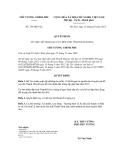 Quyết định số 354/QĐ-TTg