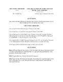 Quyết định số  352/QĐ-TTg