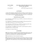 Quyết định số 522/QĐ-BTC