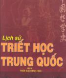 Ebook Lịch sử triết học Trung Quốc (Tập II): Phần 1 - Phùng Hữu Lan