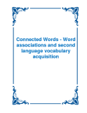 Connected Words - Word associations and second language vocabulary acquisition