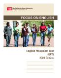 Focus on English