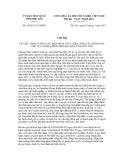 Chỉ thị số 04/2012/CT-UBND