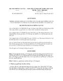 Quyết định số 603/QĐ-BGTVT