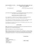 Quyết định số 490/QĐ-BGTVT