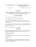 Quyết định số 265/QĐ-TTg