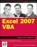 Excel 2007 VBA Programmer's Reference J