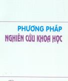 Phương pháp nghiên cứu khoa học - TS Phương Kỳ Sơn