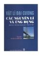 Ebook Vật lí đại cương các nguyên lý và ứng dụng (Tập 1) - NXB Giáo dục