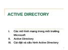 Tìm hiểu ACTIVE DIRECTORY
