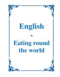 English - Eating round the world