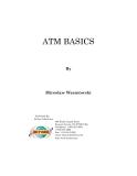 ATM BASICS By Miroslaw Wasniowski