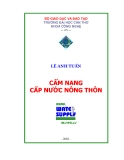 Cẩm nang cấp nước nông thôn - Lê Anh Tuấn