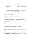 Quyết định số 93/QĐ-QLD