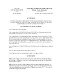 Quyết định số 91/QĐ-QLD