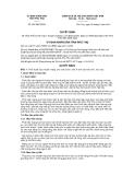 Quyết định số 831/QĐ-UBND