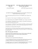 Thông tư số 07/2012/TT-NHNN