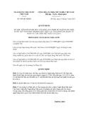 Quyết định số 469/QĐ-NHNN