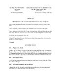 Thông tư số 06/2012/TT-NHNN