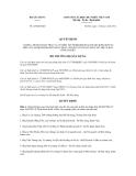 Quyết định số 225/QĐ-BXD