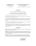 Quyết định số 1173/QĐ-UBND