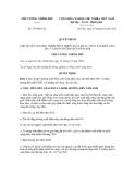 Quyết định số 279/QĐ-TTg