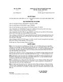 Quyết định số 723/QĐ-BTC
