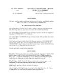 Quyết định số 1212/QĐ-BCT