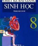 Ebook Thiết kế bài giảng Sinh học 8 - NXB Hà Nội