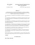 Thông tư số 48/2012/TT-BTC