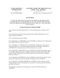 Quyết định số 03/2012/QĐ-UBND