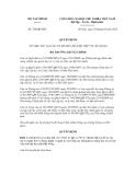 Quyết định số 764/QĐ-BTC
