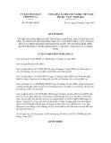 Quyết định số 507/QĐ-UBND