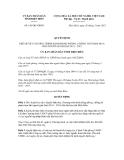 Quyết định số 188/QĐ-UBND