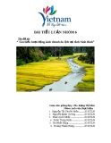 Tiểu luận: Tìm hiểu hoạt động kinh doanh du lịch tại tỉnh Ninh Bình