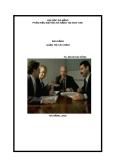 Ebook Bài giảng Quản trị tài chính - TS. Đoàn Gia Dũng
