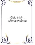 Giáo trình về  Microsoft Excel