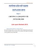 Các hướng dẫn sử dụng Outlook 2010