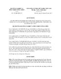 Quyết định số  729/QĐ-BNN-TT