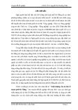 """Luận văn """" CHẤT LƯỢNG CỦA DU LỊCH Ở THÀNH PHỐ ĐÀ NẴNG """""""