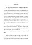 """Luận văn """" ĐÁNH GIÁ CHẤT LƯỢNG DỊCH VỤ BUỒNG TẠI THE NAM HẢI RESORT """""""