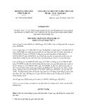 Nghị quyết số 39/2012/NQ-HĐND