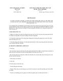 Hướng dẫn số 531/HD-TLĐ