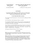 Quyết định số 505/2012/QĐ-UBND
